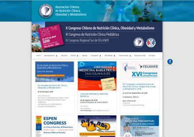 Asociación Chilena de Nutricion, Metabolismo y Obesidad