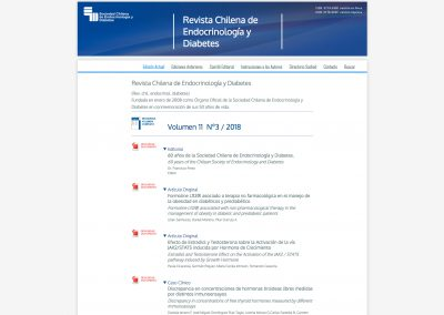 Revista Chilena de Endocrinología y Diabetes