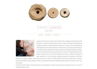 Irene Cepeda - Arte Textil
